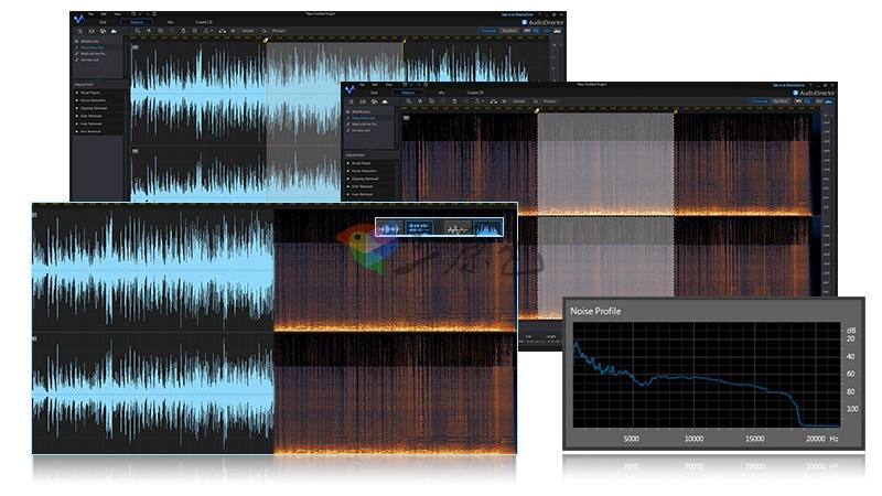 音频影音编辑处理软件 AudioDirector Ultra v8.0.2 中文破解版 其它-第3张