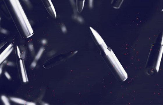AE模板 子弹汇聚Logo标志动画片头 Videohive Bullet Reveal