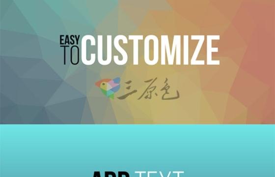 AE模板 文字标题排版字幕条动画 Videohive Typography Vol 1