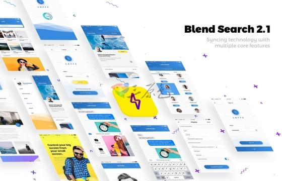 AE模板 APP应用程序演示 促销广告 Modern App Promo