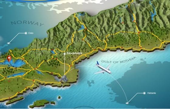 PS三维地图地形生成脚本插件 3D Map Generator – Terrain中文版