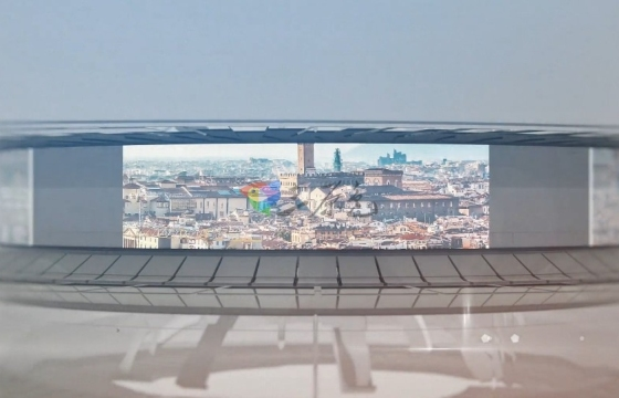 AE模板 3D全景图视频 VR沉浸式视频显示器 3D Panorama