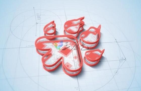 AE模板 三维草图建筑图形Logo文字动画 Architect Logo Build 2