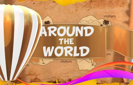AE模板 世界旅游电视栏目包装动画元素包 Around The World