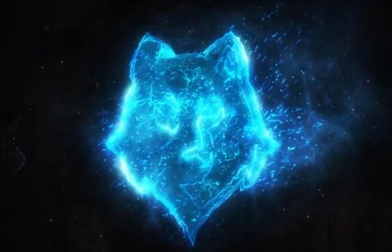 AE模板 燃烧的粒子LOGO标志特效片头 Burning Fire Logo