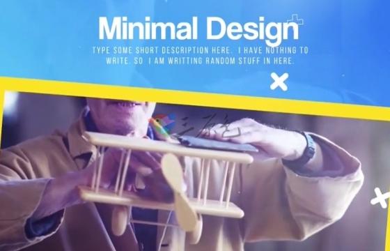 Pr模板 多彩图形动画 商品推广促销广告 Pr Colorful Promo