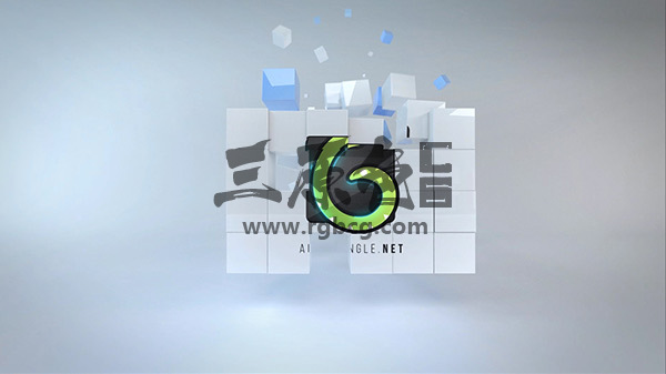 AE模板 多维数据方块集标志展示 Corporate Cubes Logo Reveal Ae 模板-第1张