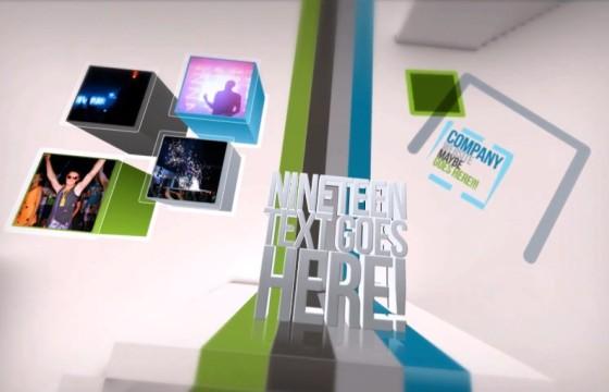 AE模板 创意楼梯文字标题视频展示介绍 Creative Stairs