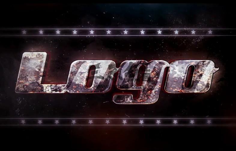 AE模板 史诗电影镜面LOGO文字标题开场片头 Epic Cinematic Logo Ae 模板-第1张
