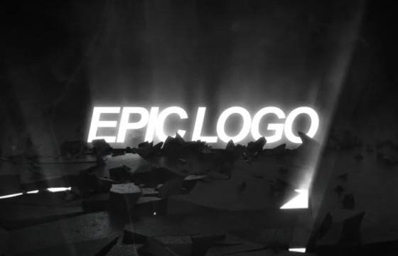 AE模板 史诗LOGO标志揭示开场片头 Epic Logo Revea