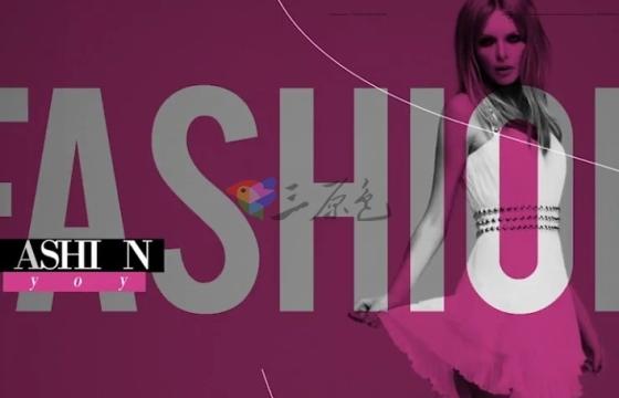 AE模板 时尚模特时装衣服展示促销广告 Fashion Promo 5