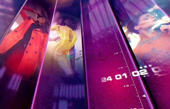 AE模板 多彩三维方形时尚照片视频展示介绍片头 Fashion