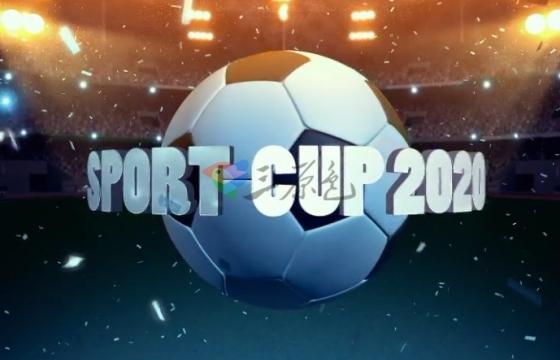 AE模板 足球比赛项目介绍开场片头 Videohive Football Intro