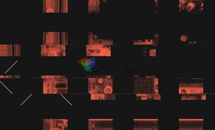 AE模板-画面故障干扰 信号损坏片头 Fresh Glitch Logo Ae 模板-第1张