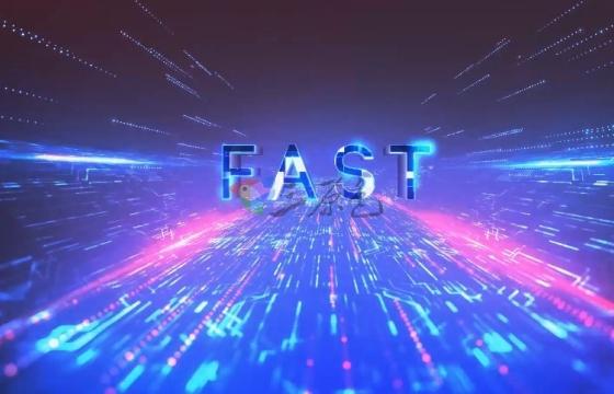 AE模板 数字科幻时空隧道 霓虹文字标题 Future Action Titles