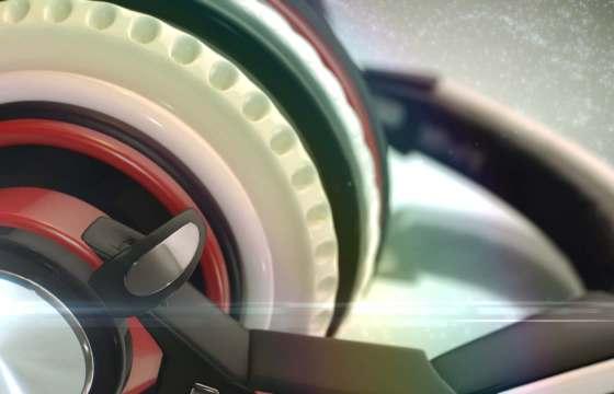 AE模板 E3D三维耳机LOGO标志开场片头 Headphones Logo