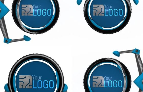 AE模板 智能机械手臂抓取LOGO标志片头 Mechanical Arms Logo