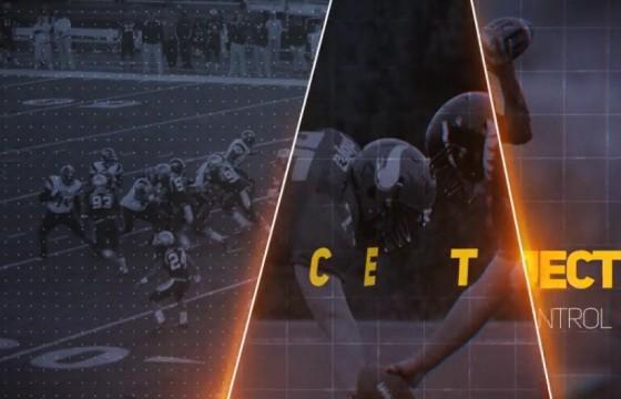 AE模板 橄榄球体育赛事运动宣传片头 Media Opener 2