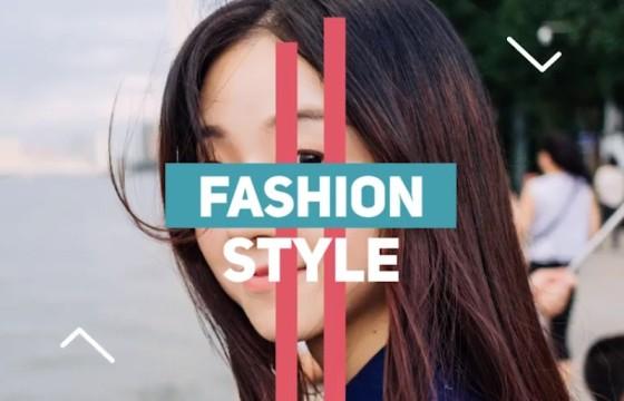 Pr模板 时尚动感促销广告图文模板 Pr Modern Fashion Promo