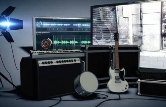 AE模板 动感调音台设备乐器吉他演唱会视频展示 Music Unlimited