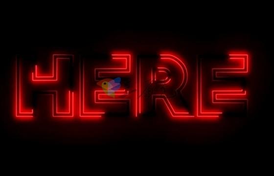 AE模板 霓虹灯效果文字快速闪现 Neon Light Stomp Promo