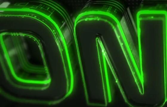 AE模板 E3D三维霓虹灯文字标题LOGO片头 Neon Logo Reveal Element 3D
