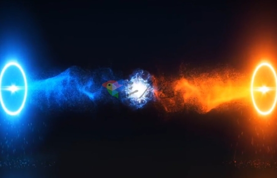 AE模板 魔法能量源标志Logo片头模板 Portal Logo Reveal