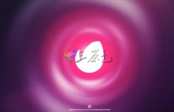 AE模板 丝绸漩涡标志Logo揭示片头 Silk Vortex Logo Reveal