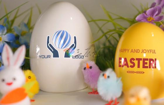 Ae模板 复活节实拍可爱片头Easter Greetings – Digital Signage
