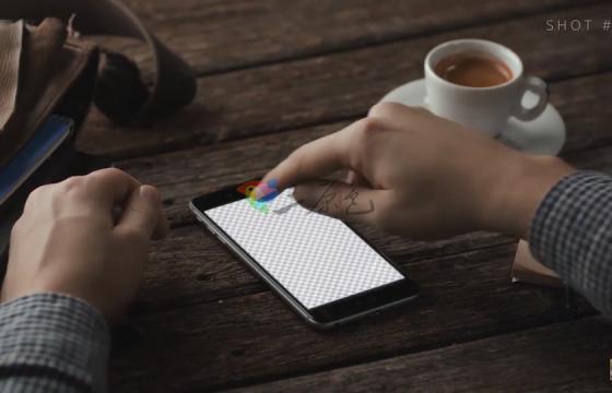 Ae模板 手机屏幕合成手势点击滑动APP展示动画The Ultimate App Promo
