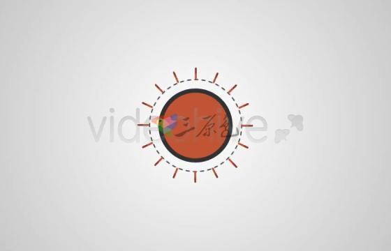 Ae模板 简单图形Logo动画Logo Reveal