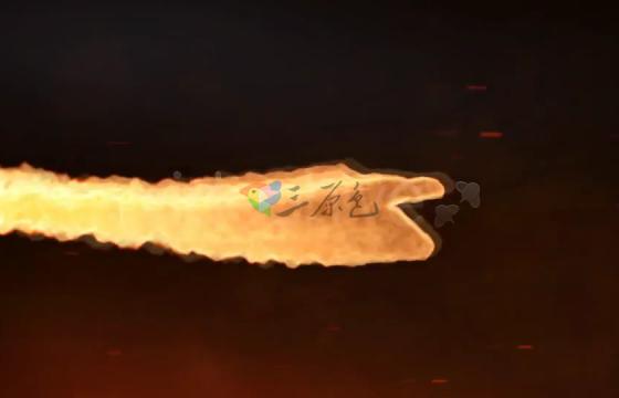 Ae模板 Dragon Born-火焰Logo动画