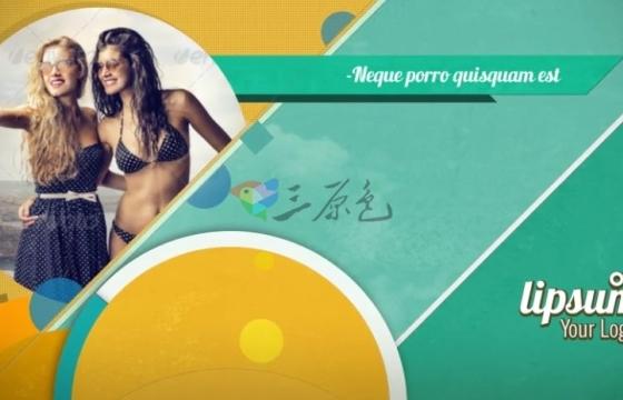 AE模板 产品促销打折广告 MG图形动画工具包 Summer Promo Pack