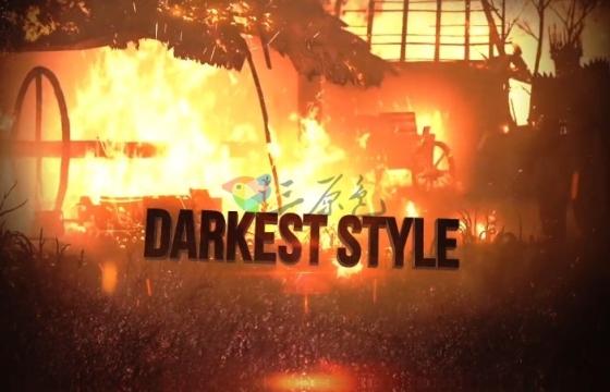 AE模板 E3D超级英雄游戏预告片模板 Superhero Games Trailer