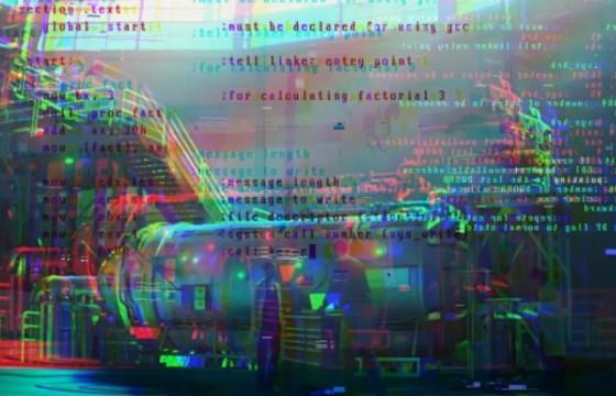 AE模板 损坏干扰故障蓝屏代码效果 System Glitch (Stomp)