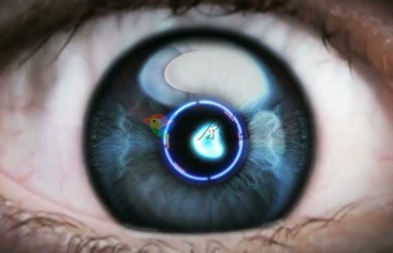 AE模板 高科技科幻眼睛穿越过渡LOGO展示 Videohive The Eye