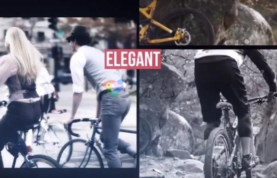 AE模板 抖音短视频图片分屏展示效果片头 Urban Slideshow