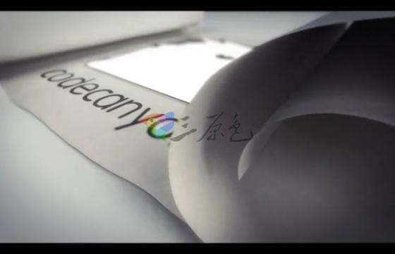 AE模板 纸张卷轴滚动展开Logo三维动画 White Scroll Logo Reveals
