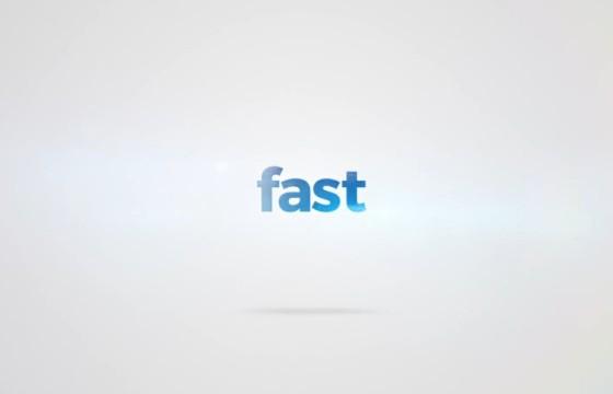 AE模板 快速出字闪现Logo标志开场片头 Videohive Quick Typo