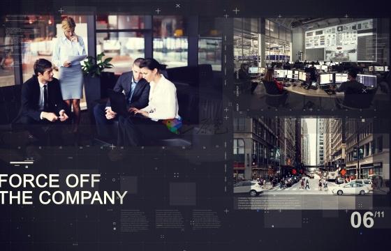 AE模板 公司企业文化形象展示幻灯片 Corporate Promo