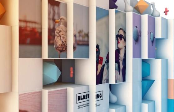 AE模板 三维抽象立方体照片显示 3D Abstract Cube Display
