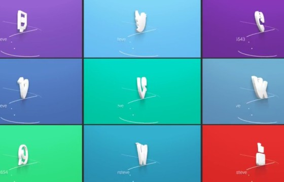 Pr模板 三维ICON图标动画展示片头 3D Social Media