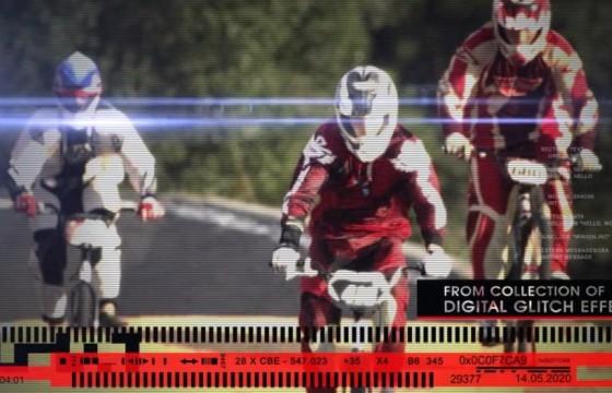 AE模板 画面干扰损坏故障预告片 Action Trailer Digital Glitch