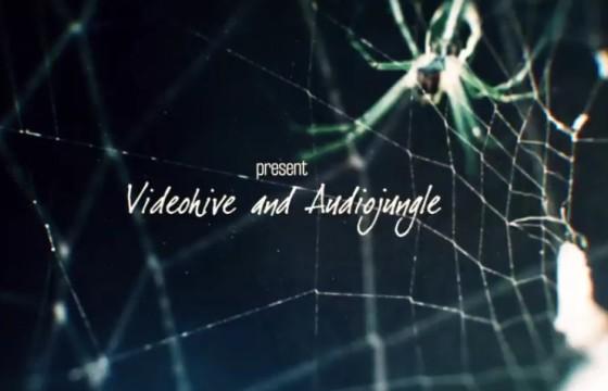 AE模板 恐怖蜘蛛文字标题片头 Arachnophobia Titles