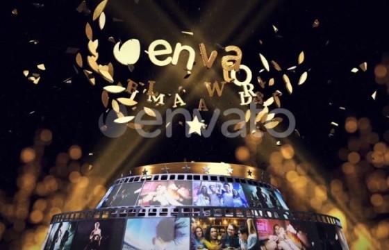 AE模板 公司年会 年终总结 颁奖典礼LOGO片头 Awards Logo