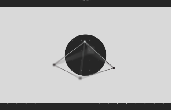 AE模板 黑白色形状动画LOGO展示片头 Black White Shapes