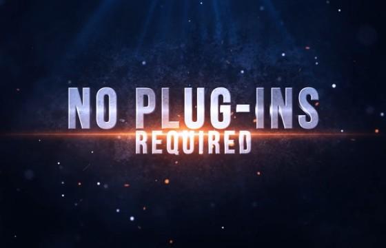 Pr模板预设 电影预告片文字标题Mogrt图形动画 Blockbuster Title