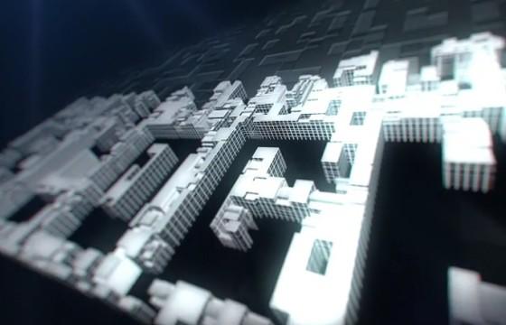 AE模板-城市高楼大厦建设动画LOGO演绎片头 City Build Logo