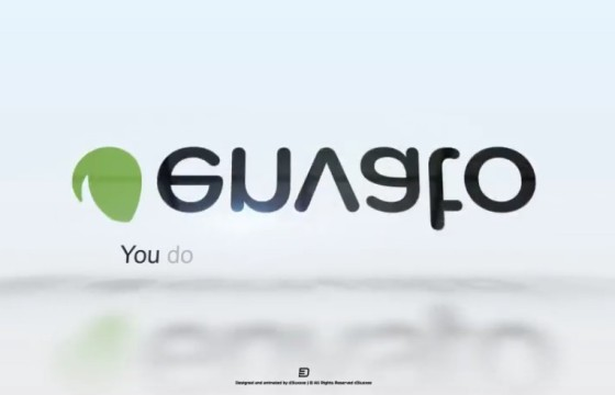AE模板 简洁干净的文字标题LOGO标志翻转动画 Clean Word Flip Logo