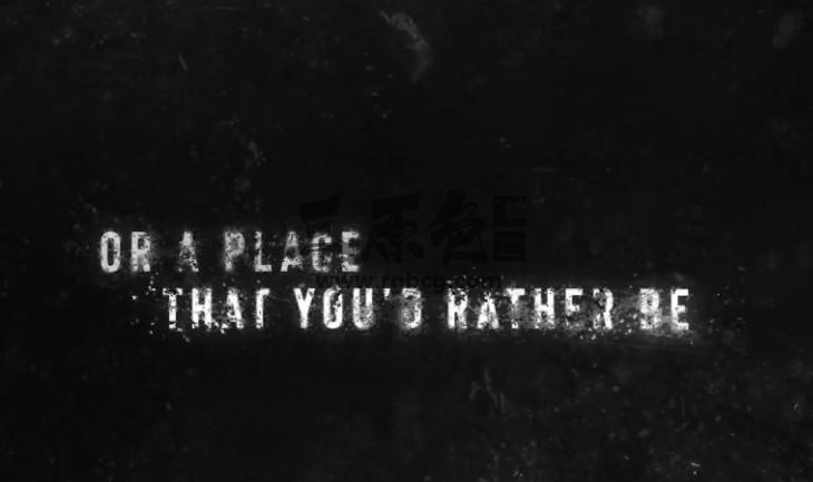 AE模板 黑暗的破损文字标题动画展示 Dark Grunge Titles Ae 模板-第1张